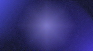 Stock Video Footage of Blue Honeycomb Motion Background 1