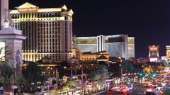 Las Vegas Strip - stock footage