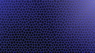 Stock Video Footage of Blue Honeycomb Motion Background 4