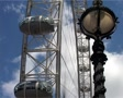 London Eye and Victorian Lamp Post GFSD Footage