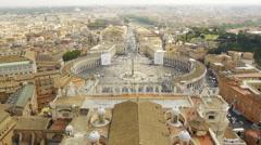 Vatican aerial Stock Footage