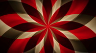Stock Video Footage of Spirograph Cherry Chocolate Abstract Loop
