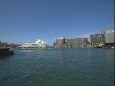 Sydney Australia - harbour pan Stock Footage