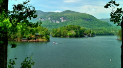 Lake Lure Stock Footage