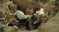 Stock Video Footage of Terracotta Army - excavation - 5