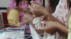 Crochet - stock footage