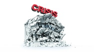 Economic crisis Stock Footage
