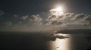 Stock Video Footage of bvi beef island sunset 1080
