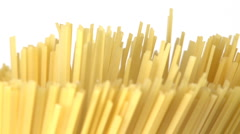 Rotated macaroni Stock Footage