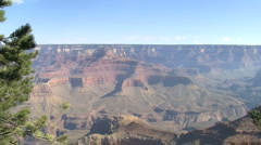 Grand Canyon Dolly / Slider shot Stock Footage