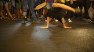 Street dances Stock Footage