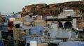Jodhpur the blue city India Footage