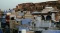 Jodhpur the blue city India HD Footage