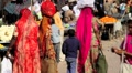 Colourful Indian women Footage