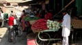 Vegetable Market Jodhpur India Footage