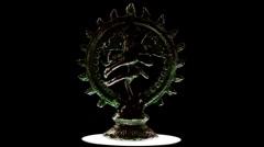 Shiva, Hindu god Stock Footage