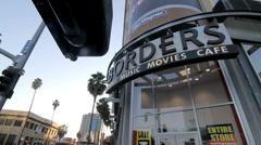 Borders Books Closing 02 - stock footage