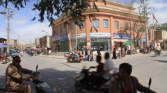 Kashgar market street, 3 Stock Footage