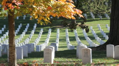 Arlington National Cemetery Stock Footage