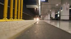 LA Metro Rail Train ( HD ) Stock Footage