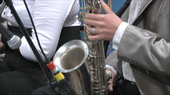 Jazz Orchestra Stock Footage