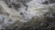 Stock Video Footage of White water swirling