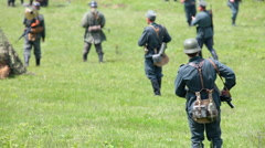 Fascist soldiers Stock Footage