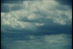 Just clouds block buster 720p hpx tl.mp4 Stock Footage