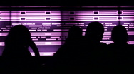 Clubbers Dance in Night Club Stock Footage