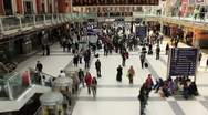 London Liverpool St station Stock Footage