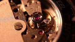 Timepiece Watch 2119 - stock footage