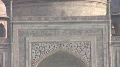 Agra - Taj Mahal clip 02 Stock Footage