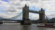 Stock Video Footage of London Bridge Close Up