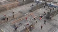Kashgar Construction 9 Stock Footage