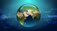 World Network HD loop Stock Footage