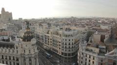 Madrid nst9 Stock Footage