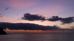Beautiful Ocean Sunrise 20110422 072200 Stock Footage