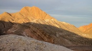 Stock Video Footage of Mountains Sunset Timelapse in Southern Nevada