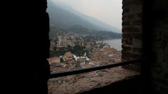 Malcesine, Italy Stock Footage