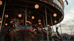 Blandford fun fair 11 Stock Footage
