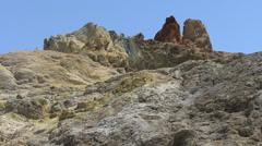 Vulcano volcanic scene Stock Footage