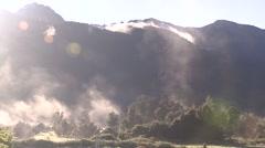 New ZealandNew Zealand timelapse mist Stock Footage