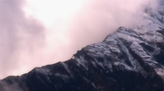New Zealand mountain ridge Stock Footage