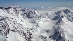 Stock Video Footage of New Zealand mountain range