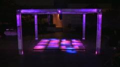 Dance Floor - stock footage