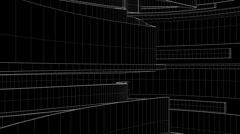 line tunnel2 jpg - stock footage