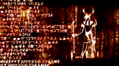 Egyptian Design 01 Stock Footage