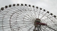 Stock Video Footage of Ferris Wheel - Moscow 850