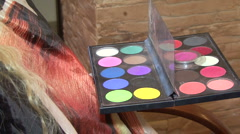 Cosmetics what are ready Stock Footage