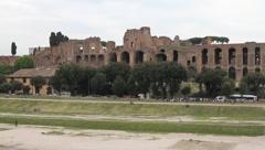 Italy - Rome - Palatin Stock Footage